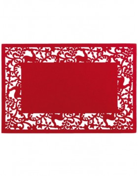 red place mat - FE040.007LR Clayre Eef