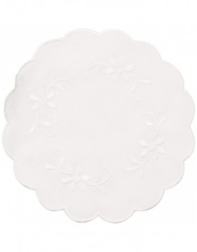 white place mat - TD002.40S Clayre Eef
