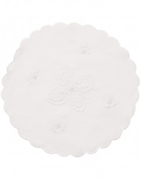 white place mat - TD003.40M Clayre Eef