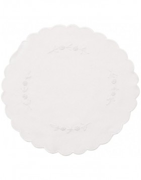 white place mat - TD004.40M Clayre Eef