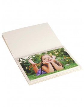 Pocket album MANDIA - ivory, 16,6 x 12,5 cm