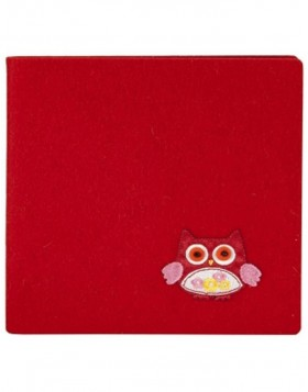autograph book FilZit red