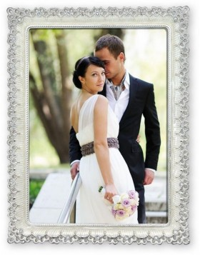 Photo frame Giovanna 10x15 cm and 13x18 cm silver