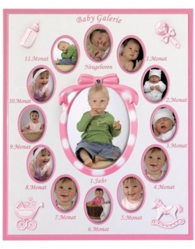 Portrait frame pink BABY GALLERY 13 Photos