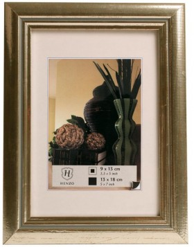 Artos 13x18 - golden wooden frame