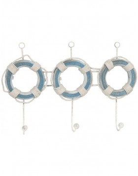 OCTO coatrack blue 3 hooks
