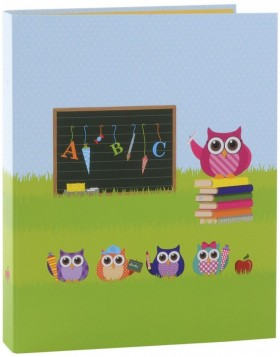 Ring Binder A4 Owl green