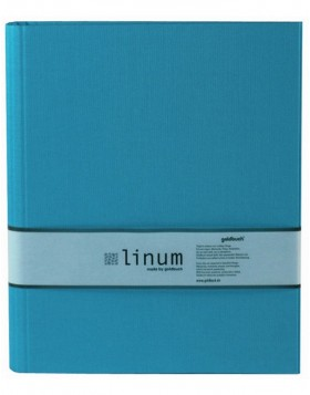Ring Binder A4 Linum turquoise