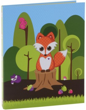 Ring Binder A4 Little Fox