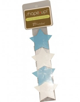 SHAPE UP Decomagnete of metal stars 4 pieces