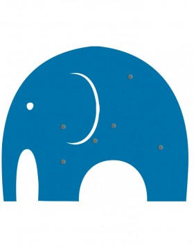 SHAPE UP Magnettafel ELEFANT blau
