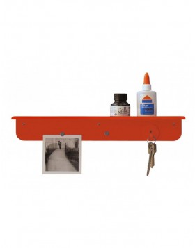 SHELFLIFE Wandboard magnetisch in orange