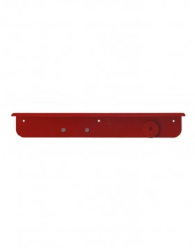 SHELFLIFE magnetisches Wandboard in rot