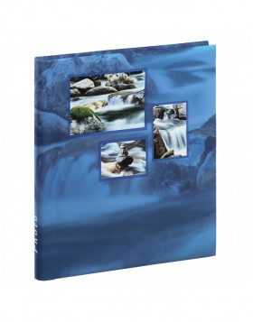 SINGO self-adhesive photo album blue 28x31 cm