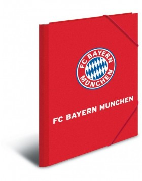 Elasticated folder A4 FC Bayern M�nchen PP