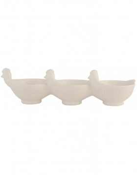 white bowl 6CE0332 Clayre Eef