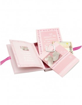 Pink treasure chest Goldbuch