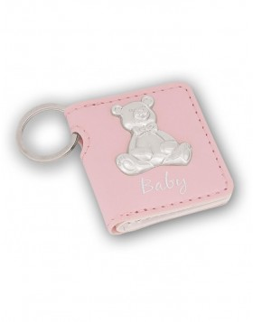 Keychain Lux Baby Bear pink