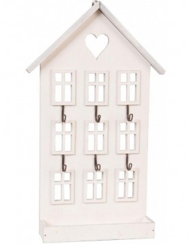 key holder HOUSE 22x36 cm natural
