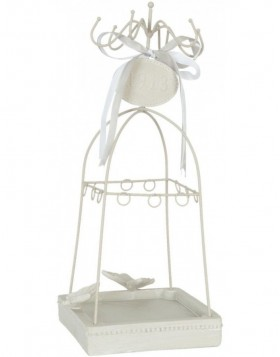 jewellery rack 62952 in white
