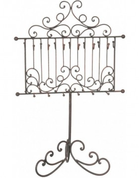 jewellery rack 6Y1400 in brown/bronze