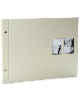 Post bound photo album Chromo beige