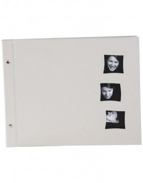 screw-bound photo album Chromo 3 beige 39x31 cm