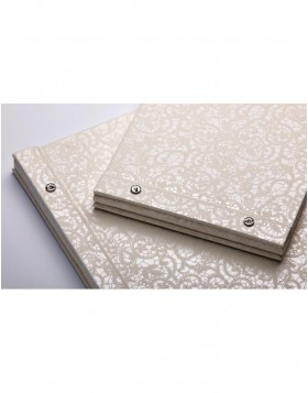 Screw album Wedding Music white 26,5x19 cm