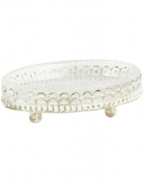 soap dish shabby   - 6Y1606 Clayre Eef