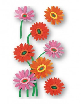 3D Stickers flowers