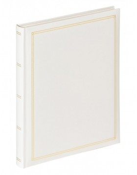 self-adhesive photo album MONZA white