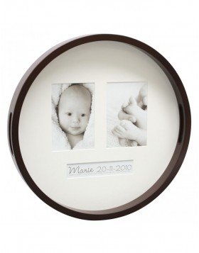 Picture tray Madha brown and white - 2 pictures