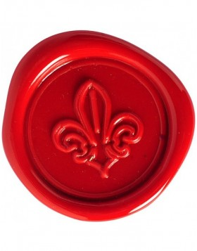 Set sealing wax lily