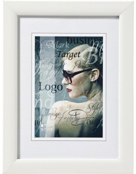 Shades picture frame 13x18 cm white