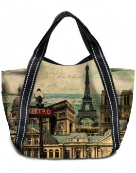Shopping bag big Paris