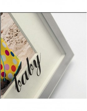 Sissi baby frame with passepartout 13x18