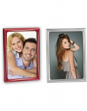 Sofia metal frame silver and red 10x15 cm, 13x18 cm and...
