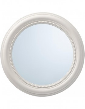 mirror with white frame 50 cm
