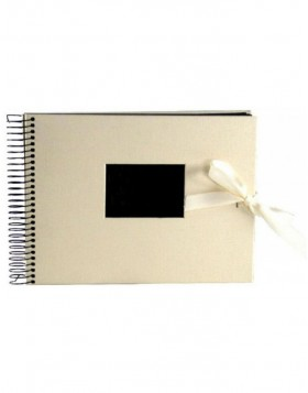 Wedding album spiral bound Avorio