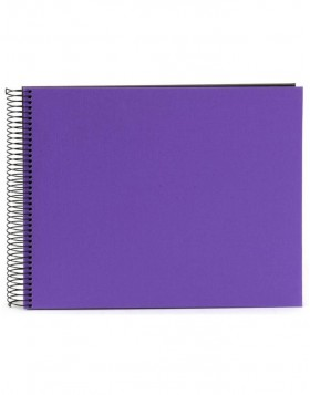 Spiral album Bella Vista purple 35x30