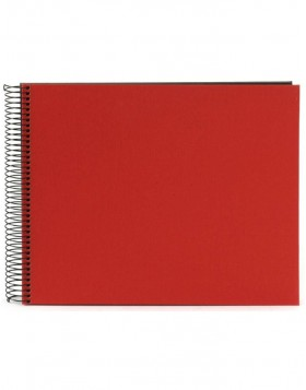 Spiral album Bella Vista red 35x30