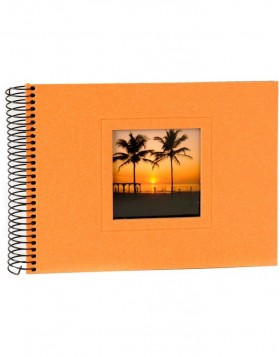 Colore spiral bound photo album 24x17 cm