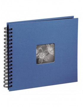 Fine Art Spiral Bound Album, 36 x 32 cm, 50 black pages,...