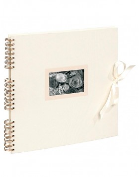 spiral bound album Kingsbridge  ivory