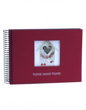 Spiral bound album home sweet home