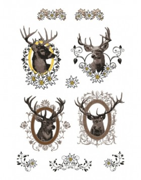 Sticker Hirsch Herma Decor