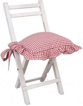 Chair cushion 40x40 red Just check
