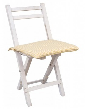 Chair Cushion Just check yellow with filling 40x40