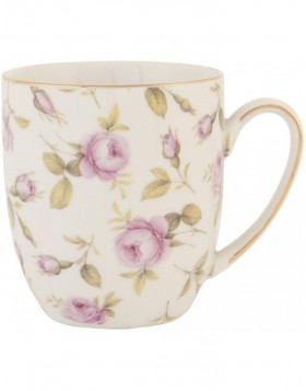 mug TEA ROSE colour - TRMUS Clayre Eef