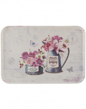 dinner tray FLOWERS 45x31 cm